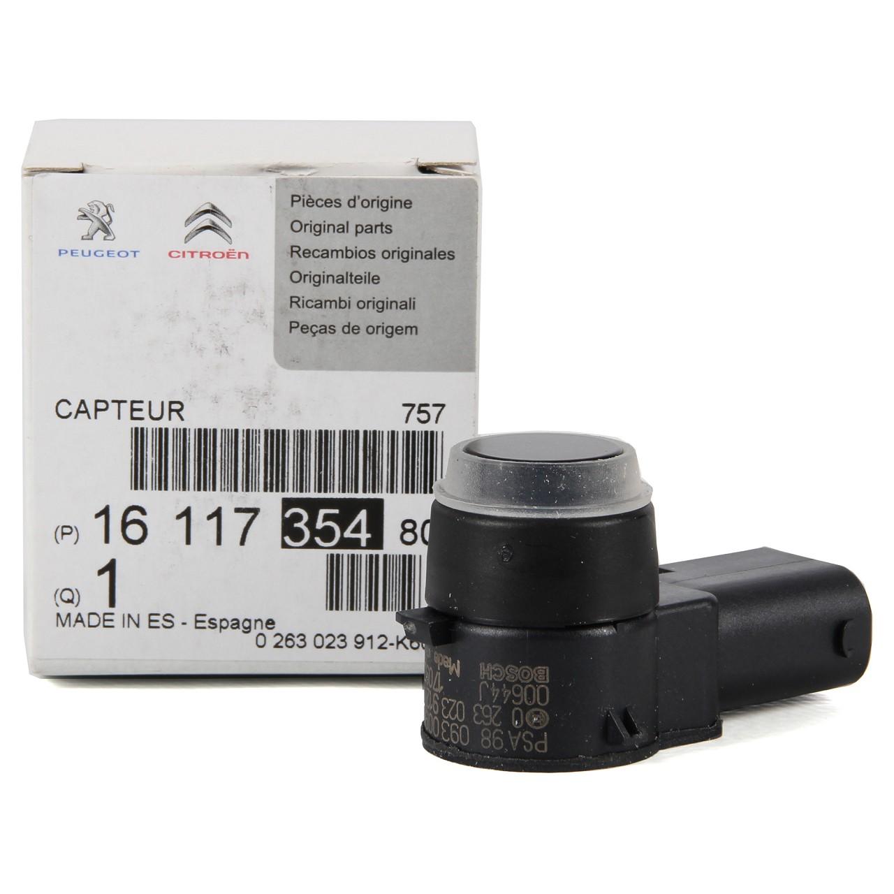 ORIGINAL PSA Einparksensor C4 II DS4 DS5 508 / SW VORNE 1611735480