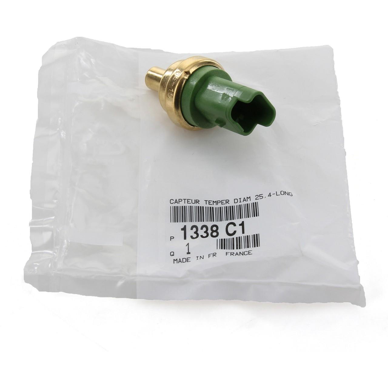 ORIGINAL Citroen Peugeot Temperaturgeber Kühlmitteltemperatursensor 1338.C1