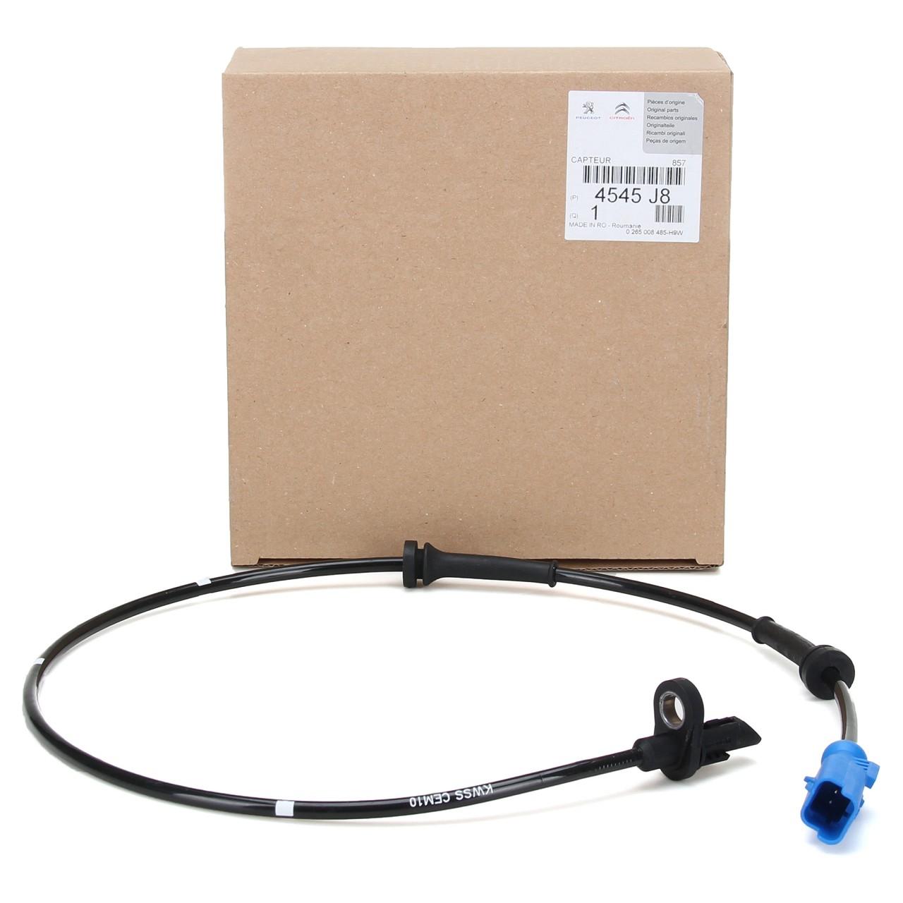 ORIGINAL PSA ABS Sensor Raddrehzahl C3 C-ELYSEE 207 208 301 hinten 4545.J8