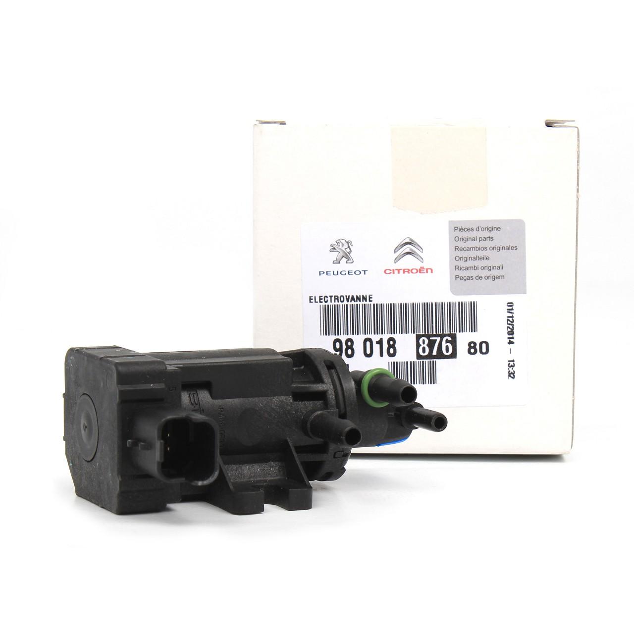 ORIGINAL Citroen Peugeot Unterdrucksensor Ladedrucksensor Turbolader 9801887680