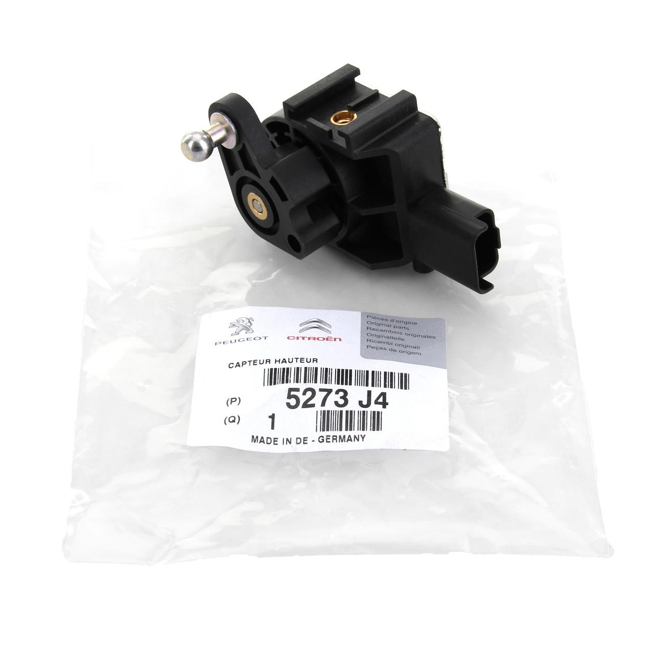 ORIGINAL Citroen Sensor Leuchtweitenregulierung Höhenstandssensor C5 C6 5273.J4