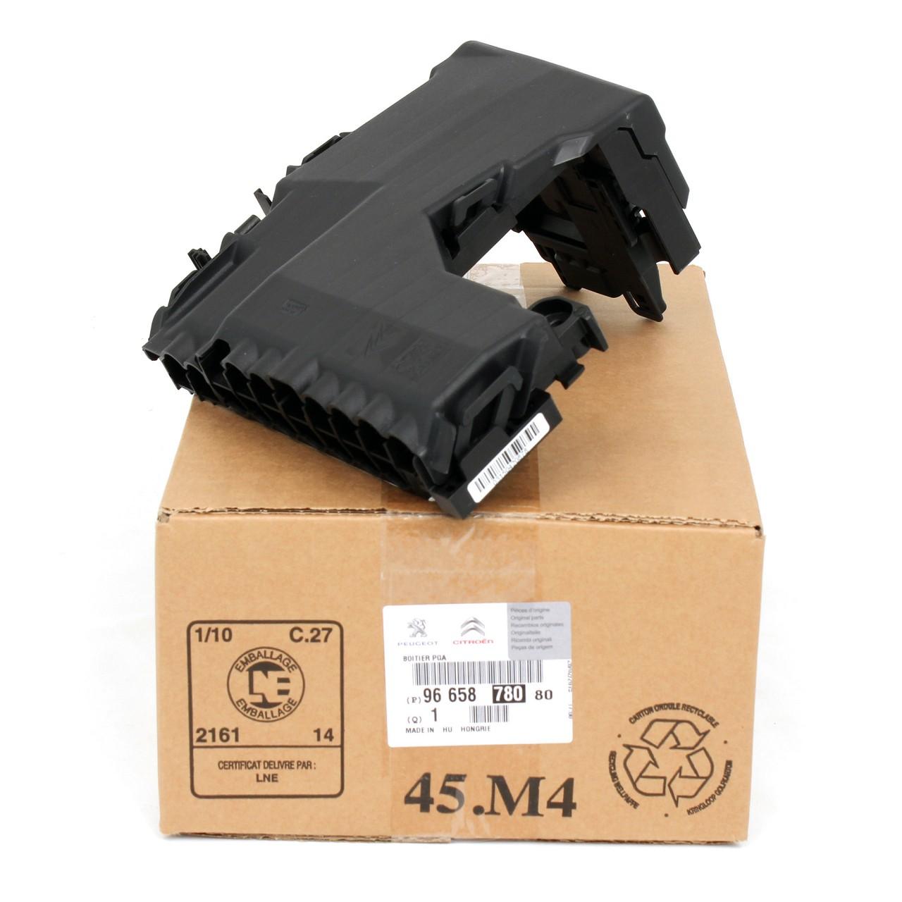 ORIGINAL Peugeot Sicherungskasten Zentralelektronik 508 I / 508 SW I 9665878080