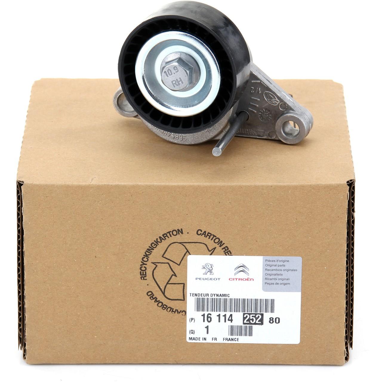ORIGINAL Citroen Peugeot Spannrolle Keilrippenriemen 1611425280