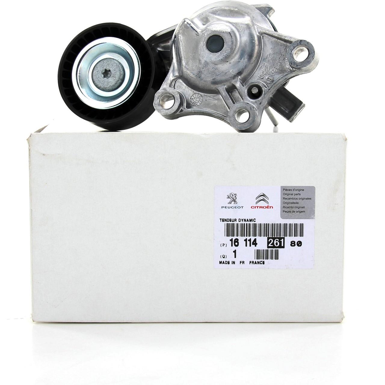 ORIGINAL Citroen Peugeot Spannrolle Keilrippenriemen 1611426180