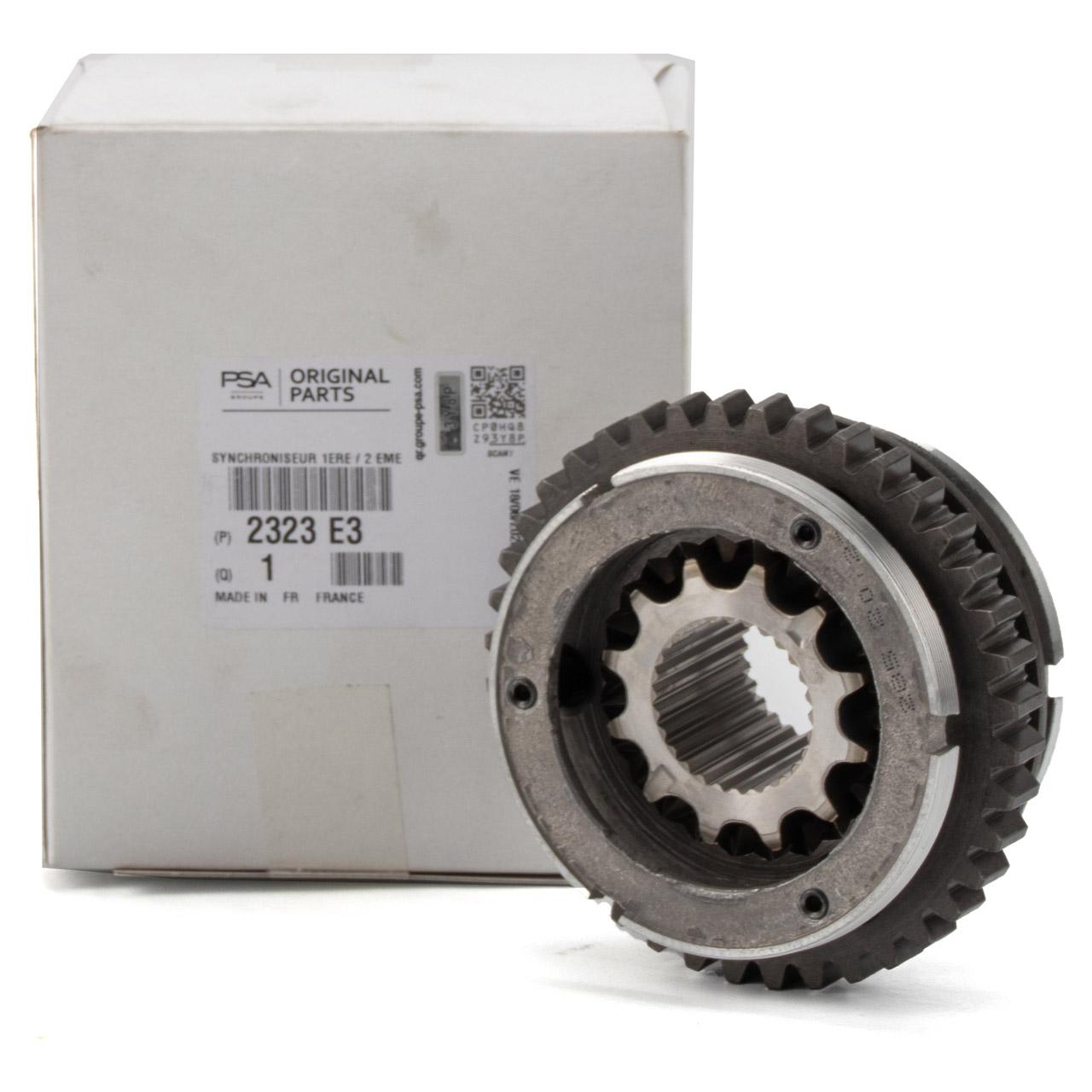 ORIGINAL Citroen Peugeot Synchronring BE4R Schaltgetriebe 2323.E3