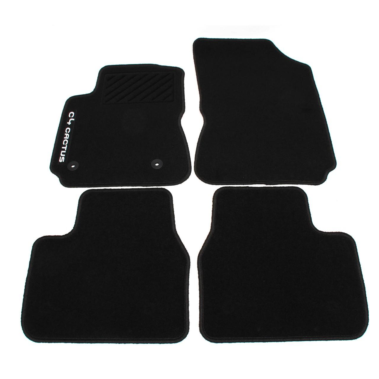 ORIGINAL Citroen Textilmatten Fußmatten Automatten Satz C4 CACTUS 1611102680