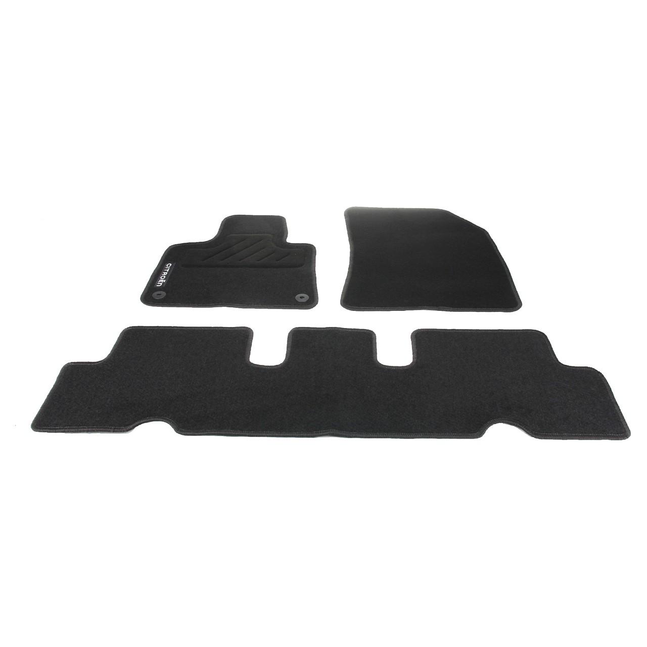 ORIGINAL Citroen Textilmatten Fußmatten Automatten Satz C4 PICASSO II 1637819380