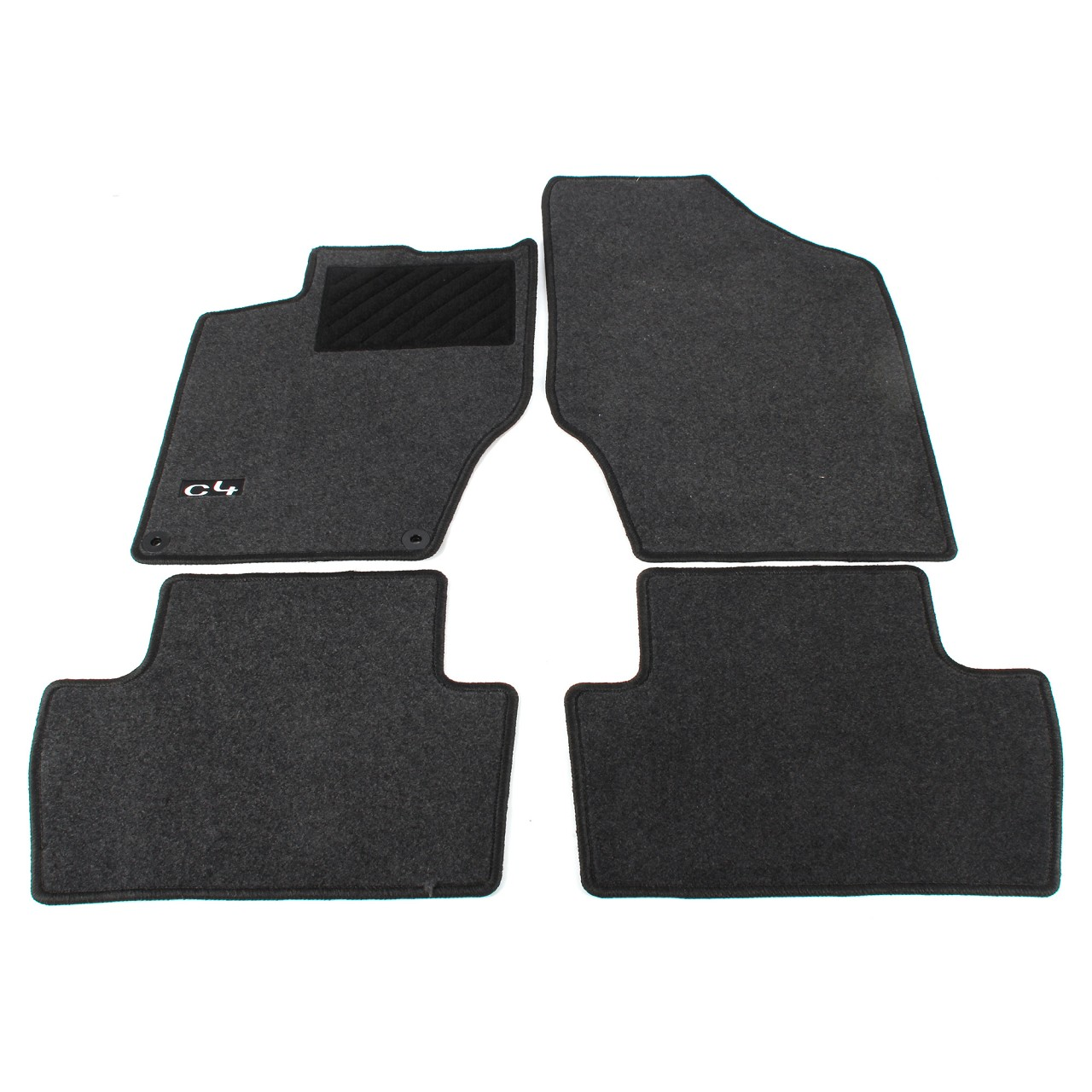 ORIGINAL Citroen Textilmatten Fußmatten Automatten Satz C4 II DS4 4-tlg 9464.FJ