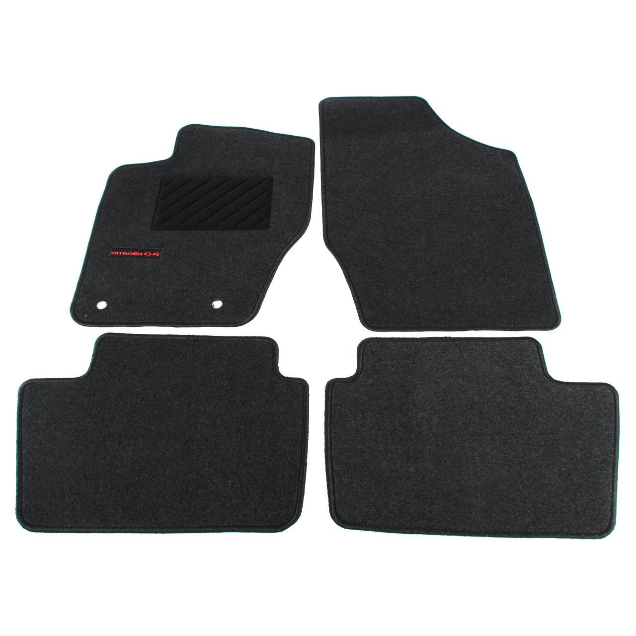 ORIGINAL Citroen Textilmatten Fußmatten Automatten Satz C4 I + C4 COUPE 9464.Q1