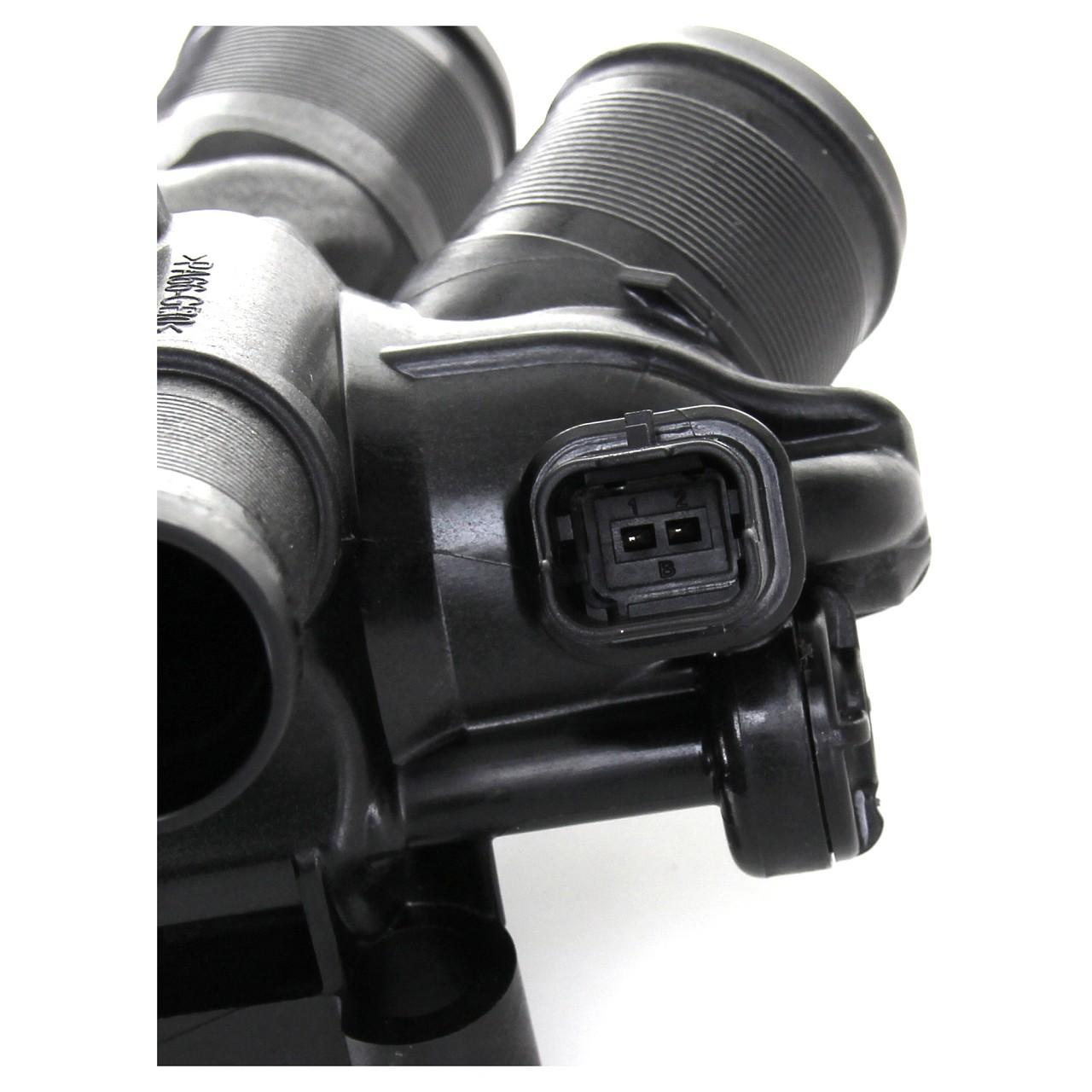 ORIGINAL PSA Thermostatgehäuse + Sensor + Dichtung 1.4 1.6 9808646980