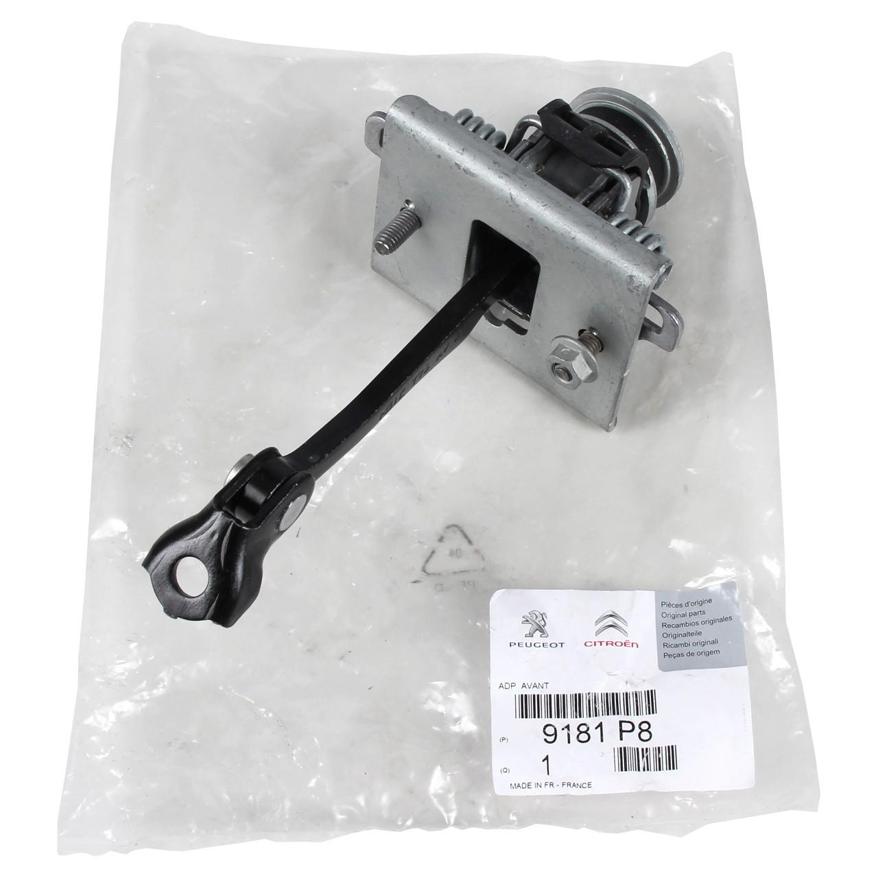 ORIGINAL Peugeot Türfeststeller Türhalteband Türfangband 9181.P8 für 308 CC