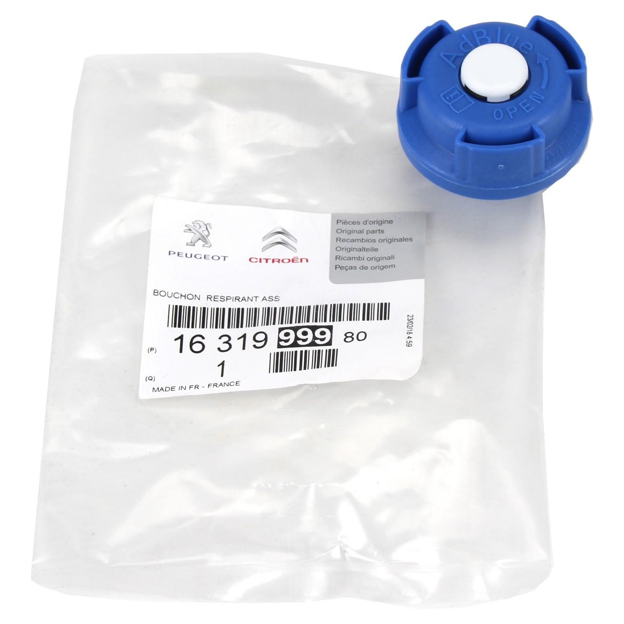 ORIGINAL PSA Tankdeckel AdBlue Berlingo C3 C4 C5 208 308 mit EURO 6 1631999980