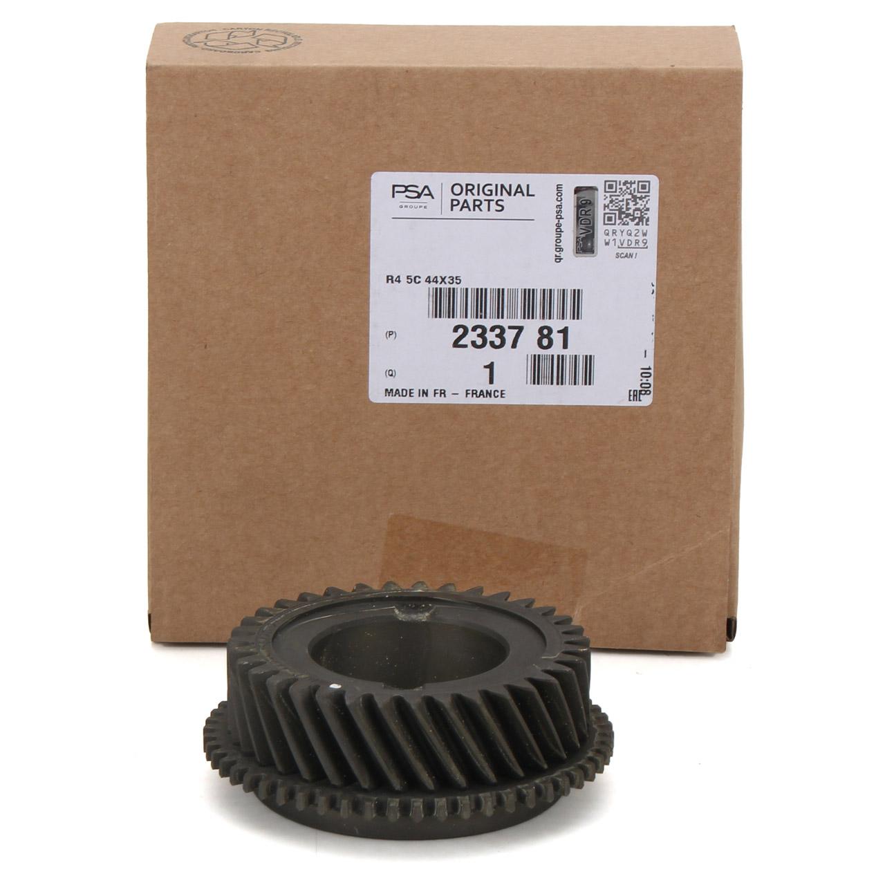 ORIGINAL PSA Zahnrad Getriebeeingangswelle ML6 CL Schaltgetriebe 2337.81