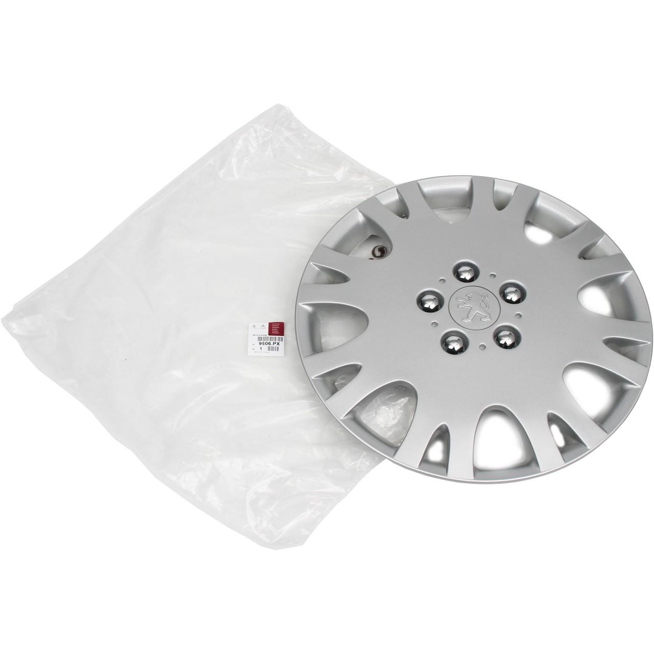 ORIGINAL Peugeot Radkappe Radblende 16 Zoll PRESTIGE 207 307 308 406 407 9606.PX