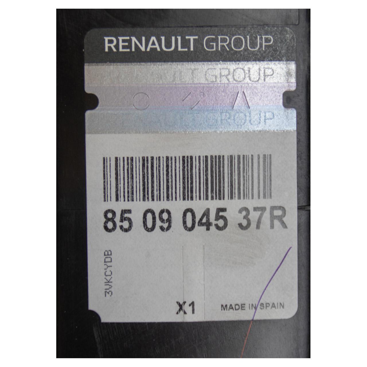 ORIGINAL Renault Aufprallschutz Stoßstangenträger CAPTUR hinten oben 850904537R
