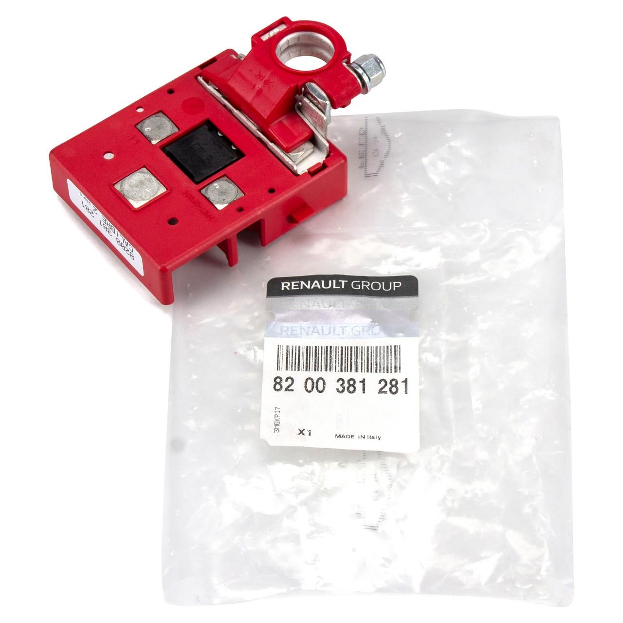 ORIGINAL Renault Batterieklemme Pluspol Plus Sicherung MEGANE II 8200381281