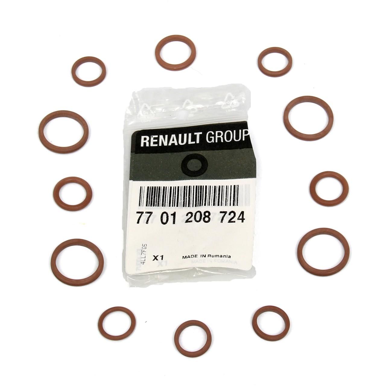 ORIGINAL Renault Dichtringsatz Klimaanlage Espace IV Laguna II 7701208724