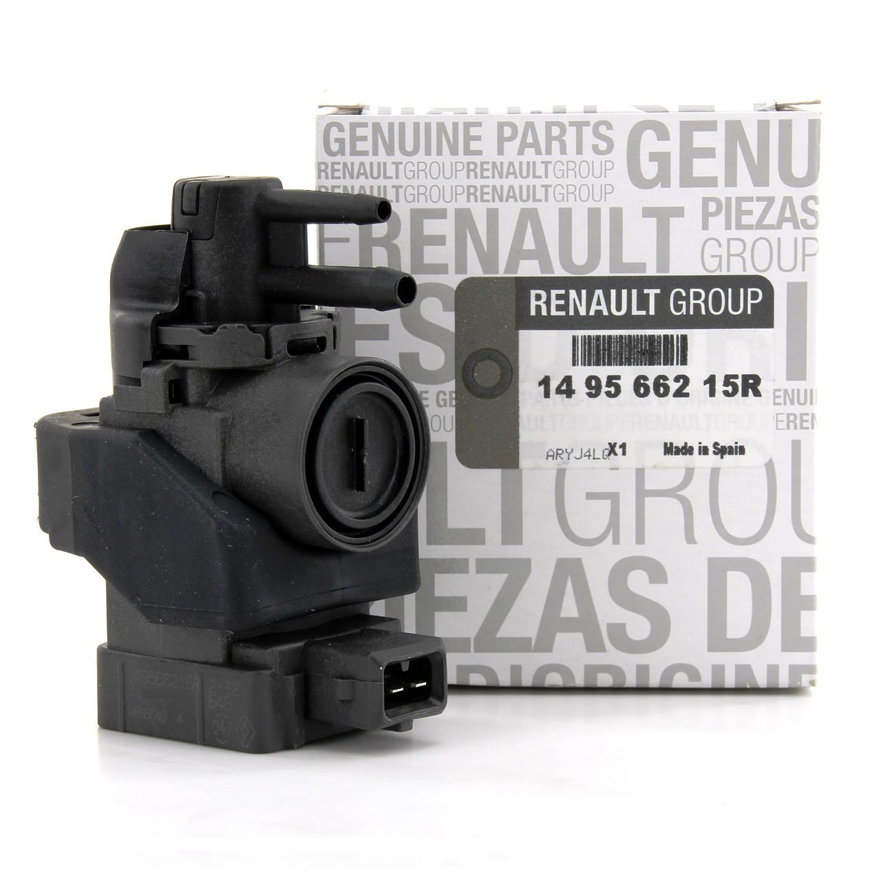 ORIGINAL Renault Druckwandler Magnetventil Elektroventil 1.5dCi 149566215R