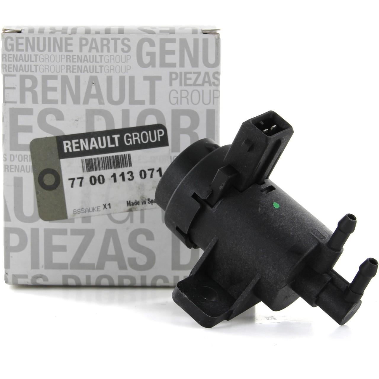 ORIGINAL Renault Druckwandler Magnetventil Elektroventil Turbolader 7700113071