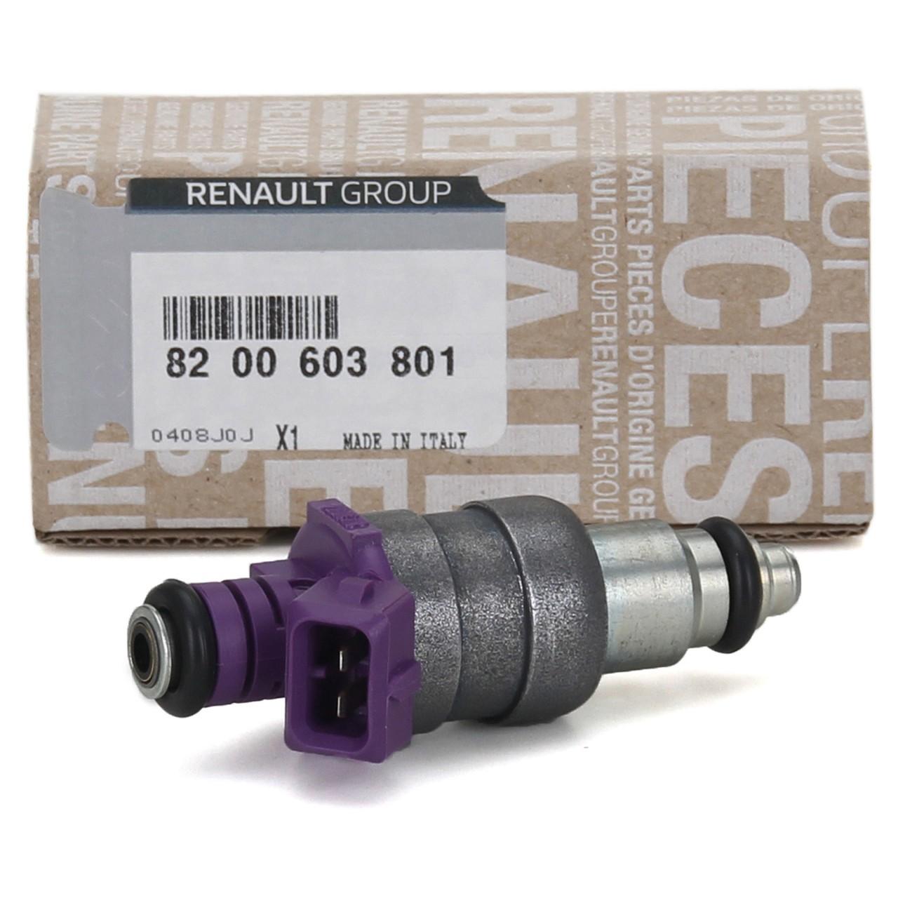 ORIGINAL Renault Einspritzdüse Einspritzventil 1.2 16V 8200603801
