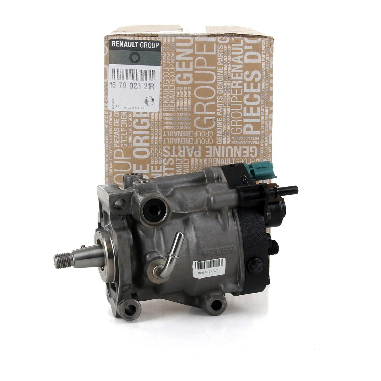 ORIGINAL RENAULT Einspritzpumpe Hochdruckpumpe 167002321R 1.5dCi K9K Clio Scenic
