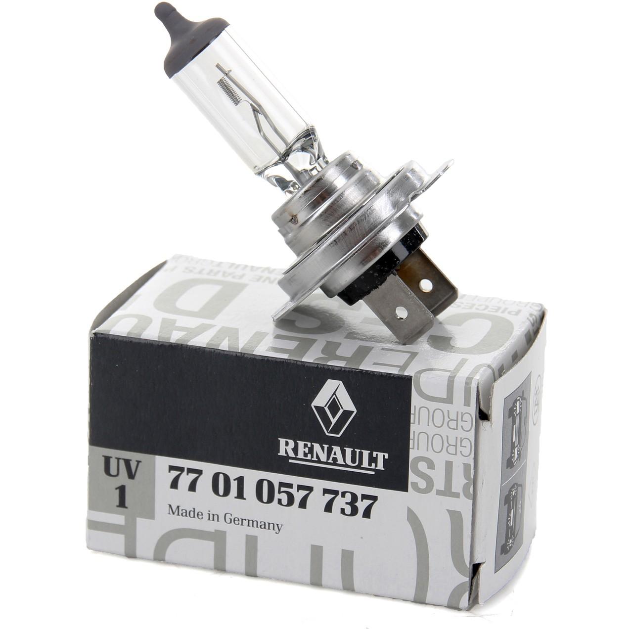 ORIGINAL Renault Halogenlampe Glühlampe H7 12V 55W PX26d (1 Stück) 7701057737
