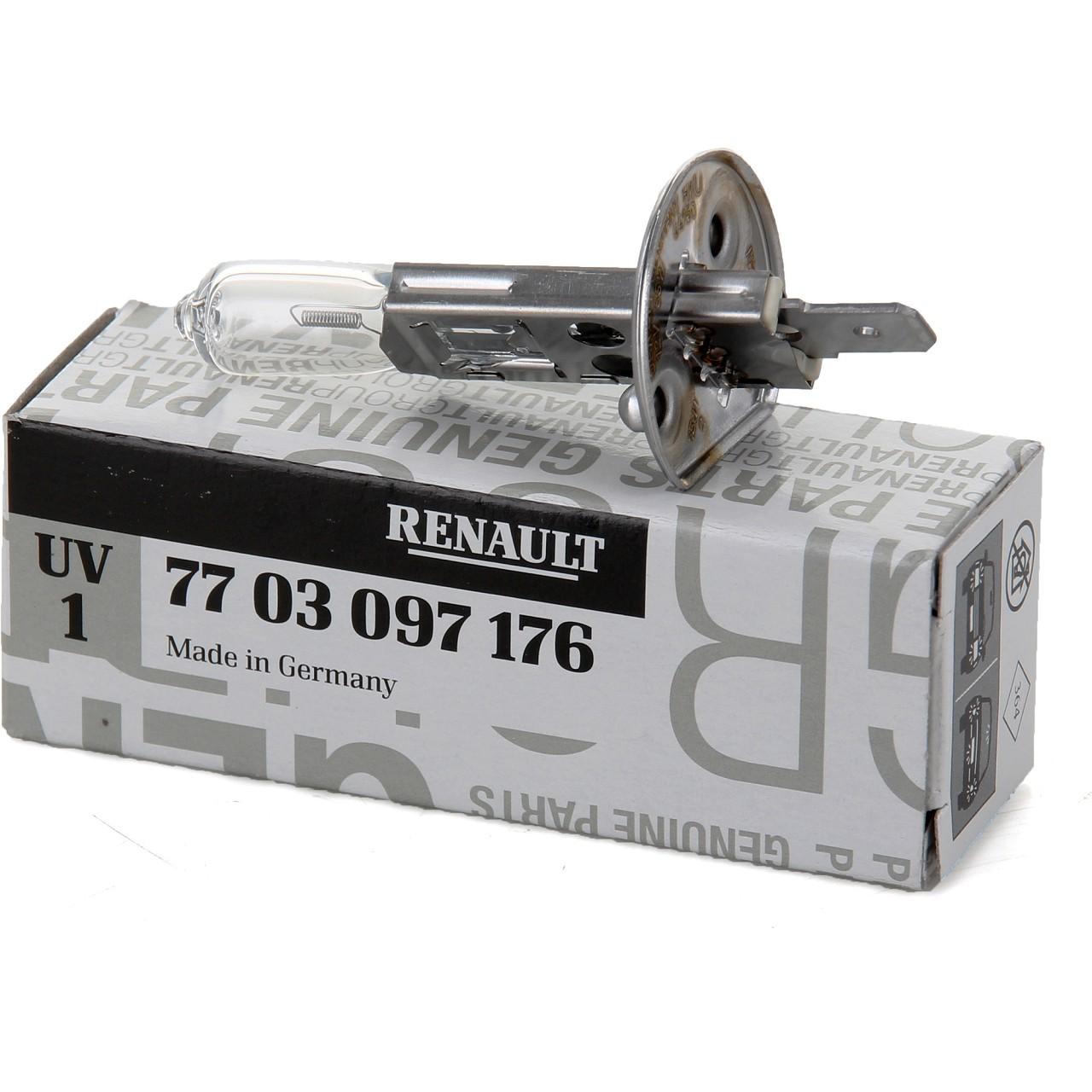ORIGINAL Renault Halogenlampe H1 12V 55W P14.5s (1 Stück) 7703097176