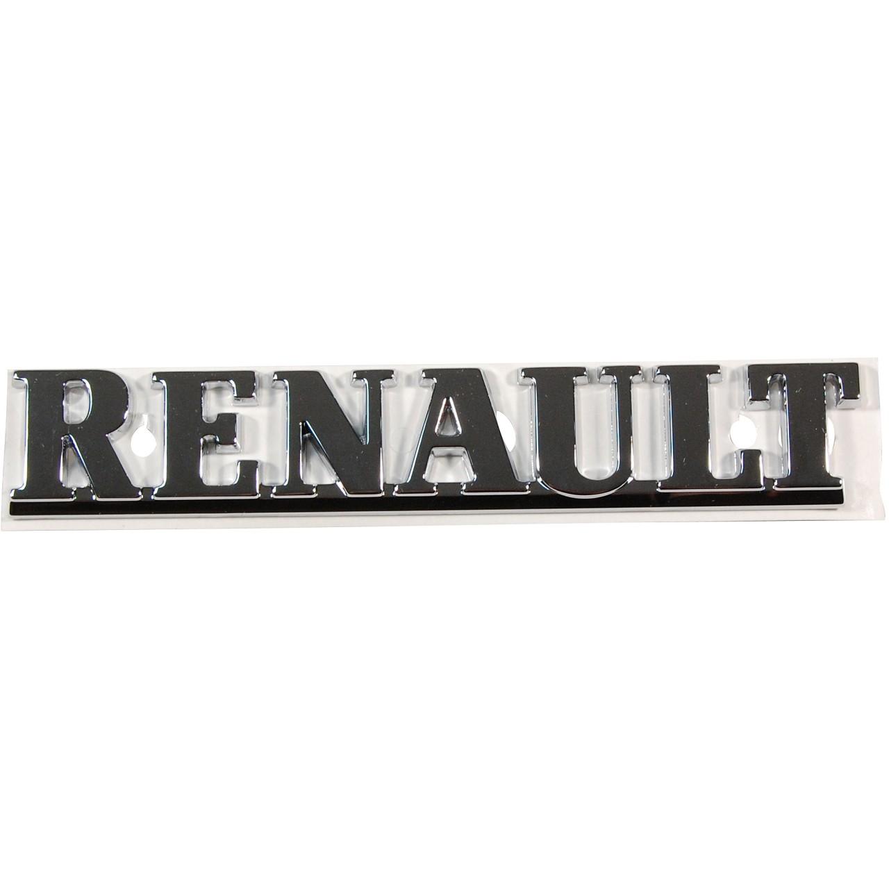 ORIGINAL Renault Emblem Logo Plakette Schriftzug Heckklappe 7700817027