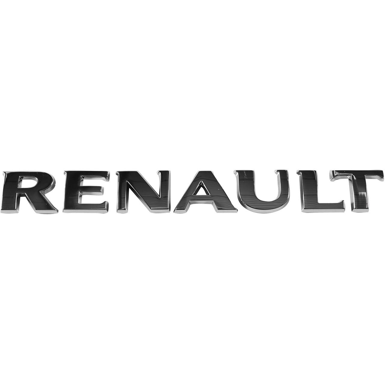 ORIGINAL Renault Emblem Logo Plakette Schriftzug Heckklappe 8200484897