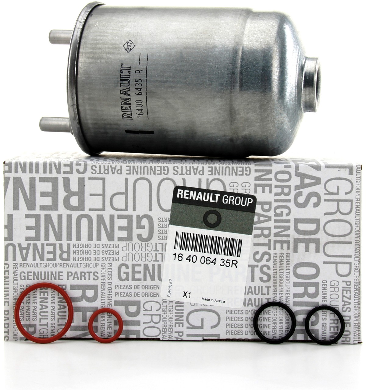 ORIGINAL Renault Kraftstofffilter Dieselfilter Megane Scenic 1.5dCi 164006435R