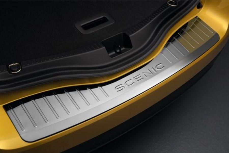 ORIGINAL Renault Ladekantenschutz EDELSTAHL 8201586091 für SCENIC IV