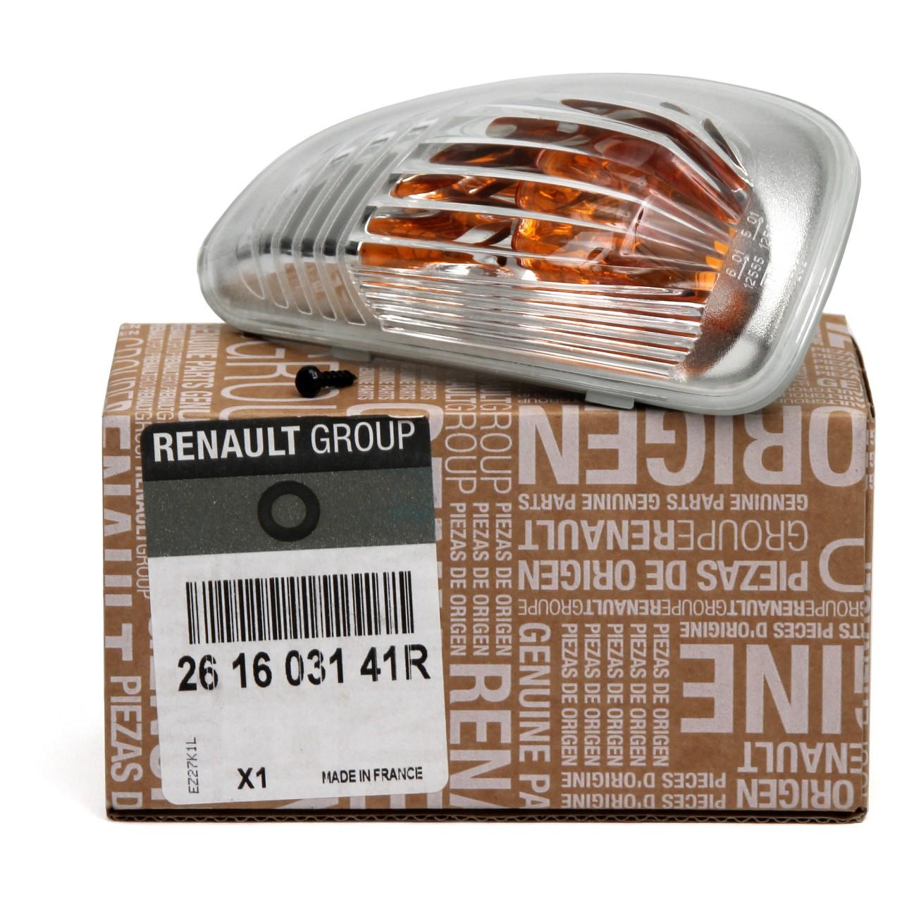 ORIGINAL Renault Blinkleuchte Außenspiegel RECHTS 261603141R für MASTER III