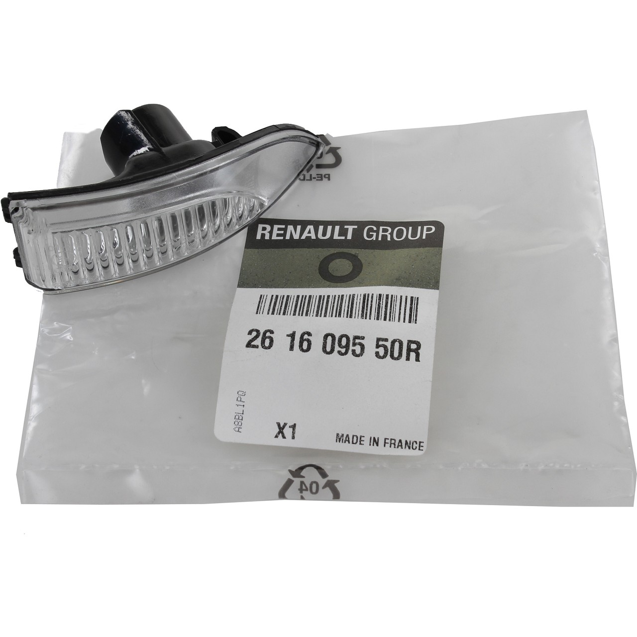ORIGINAL Renault Lichtscheibe Außenspiegel Blinker MEGANE III rechts 261609550R