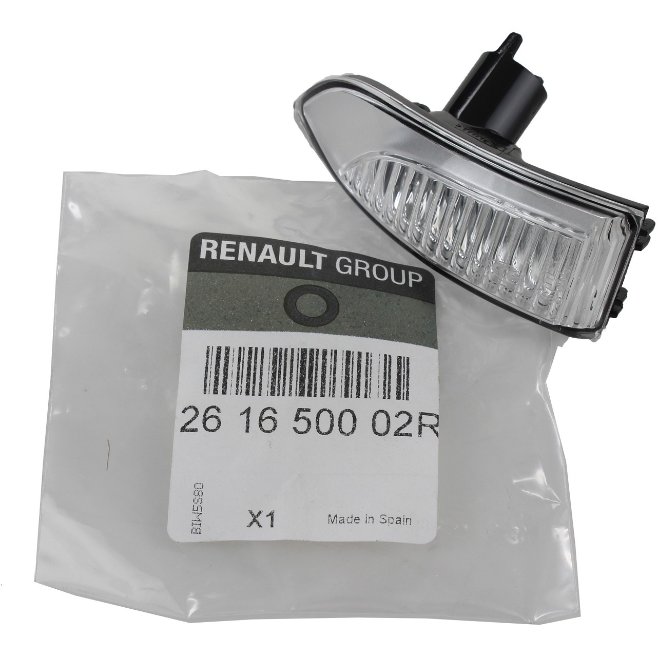 ORIGINAL Renault Lichtscheibe Außenspiegel Blinker Laguna III links 261650002R