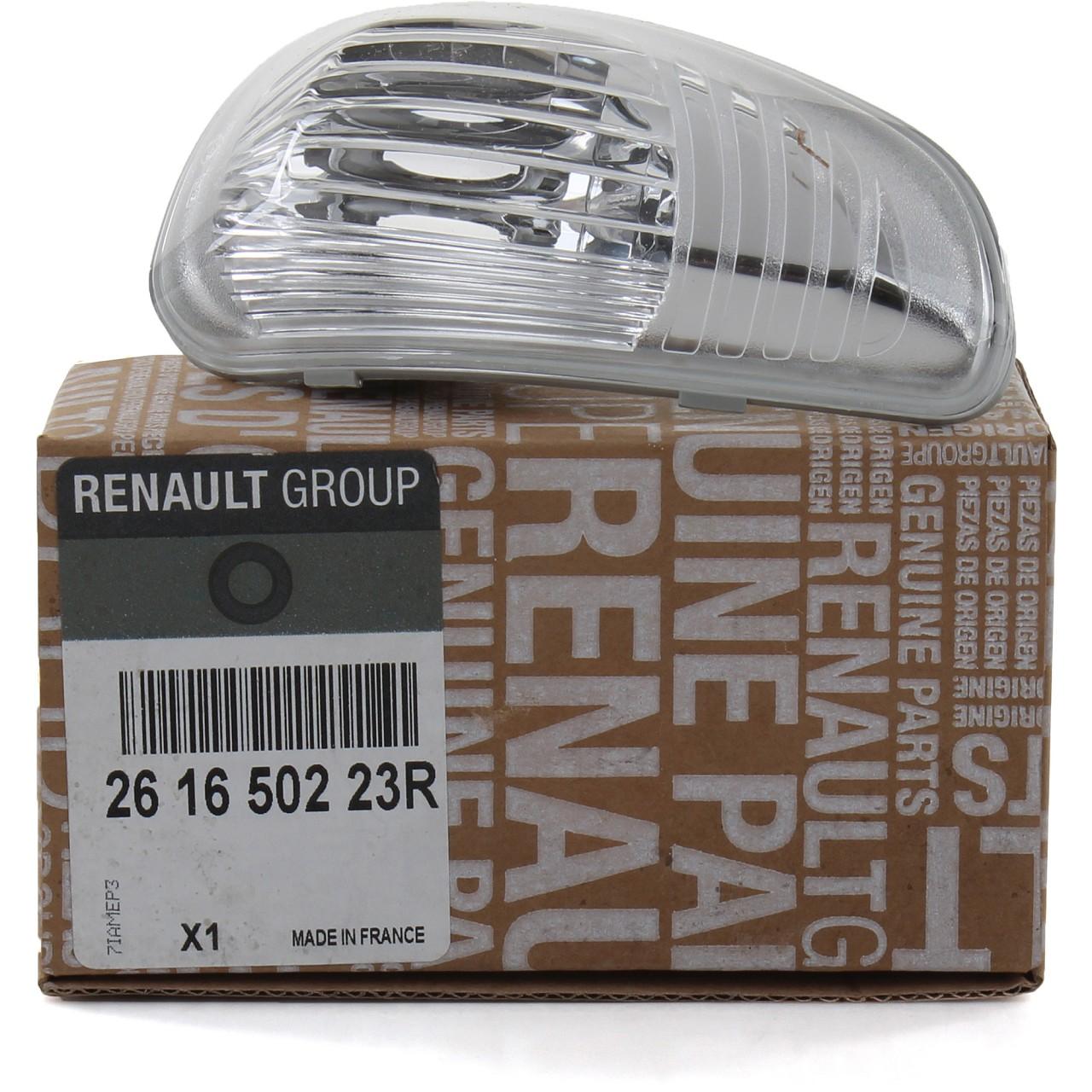 ORIGINAL Renault Lichtscheibe Außenspiegel Blinker Master III links 261650223R