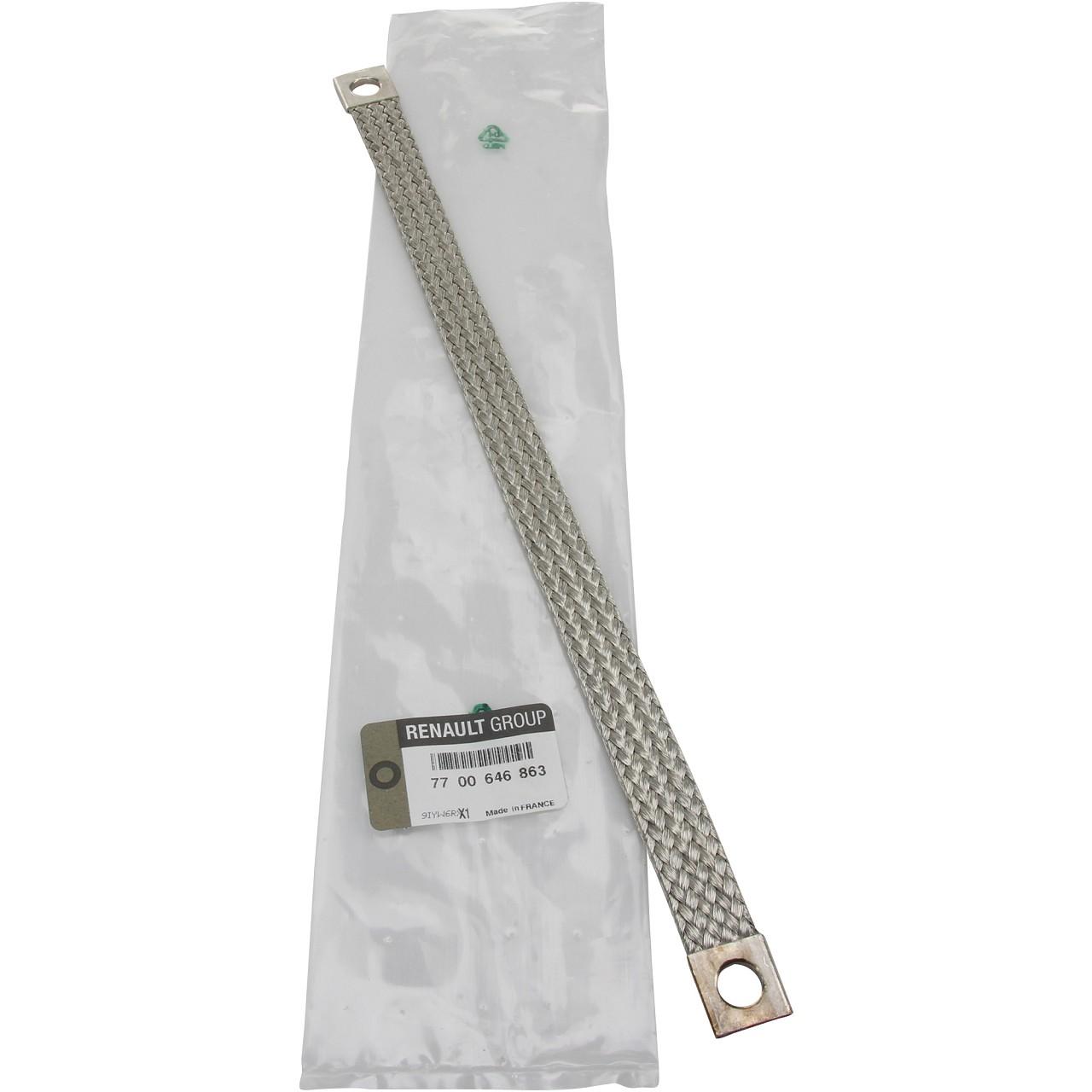 ORIGINAL Renault Masseband Leitung Verbinder Batterie 7700646863