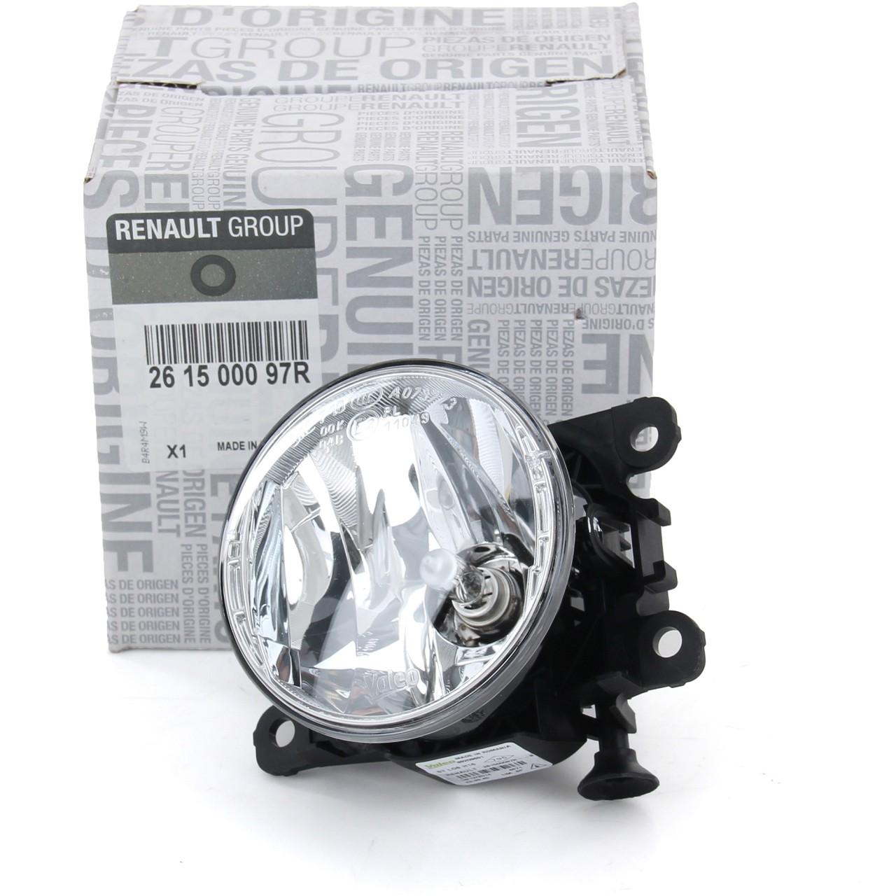 ORIGINAL Renault Nebelscheinwerfer Nebelleuchte Nebellicht beidseitig 261500097R