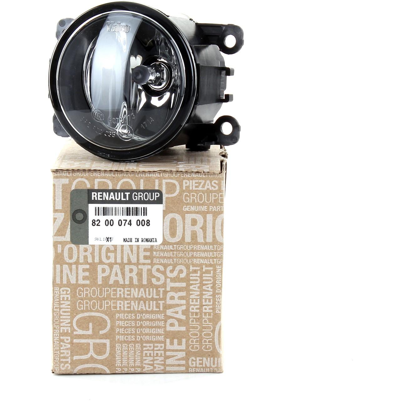 ORIGINAL Renault Nebelscheinwerfer Nebelleuchte Nebellicht beidseitig 8200074008