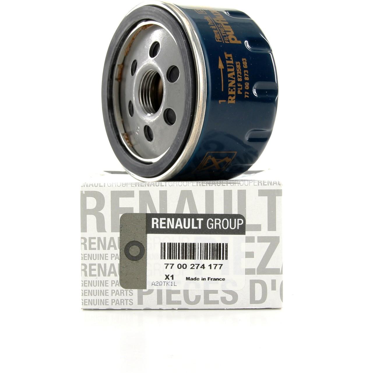 ORIGINAL Renault Ölfilter Motorölfilter 7700274177 KANGOO MEGANE II + III
