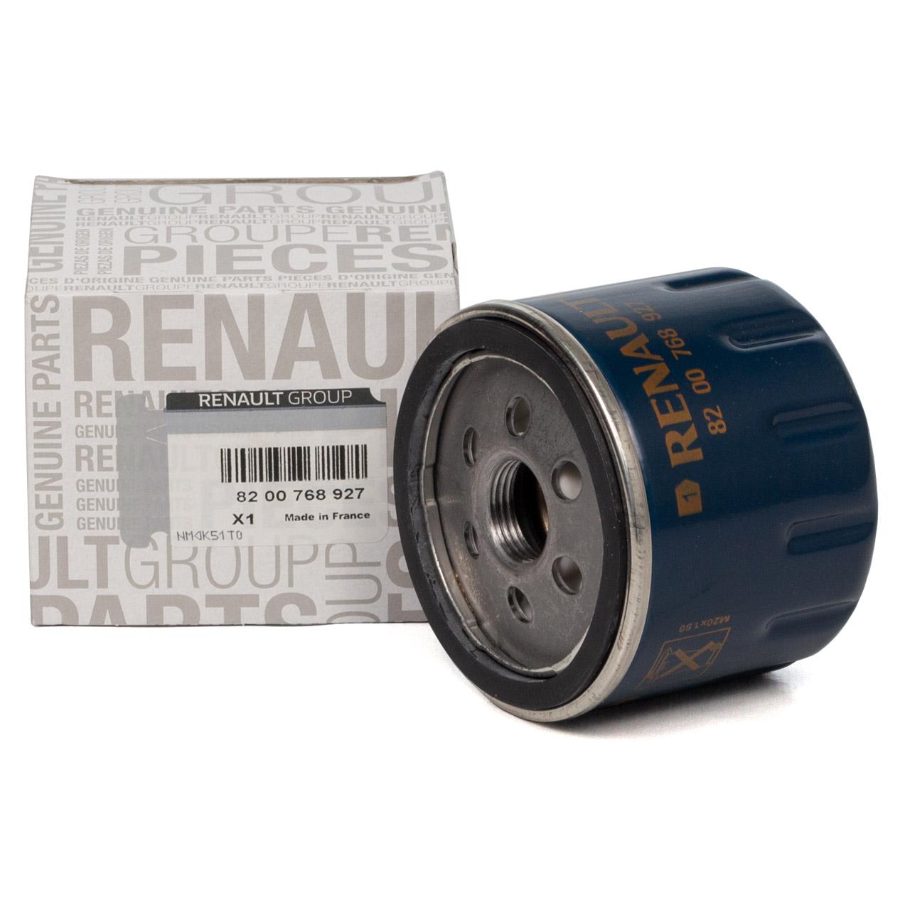 ORIGINAL Renault Ölfilter CLIO SCENIC LAGUNA MEGANE TWINGO TRAFIC 8200768927