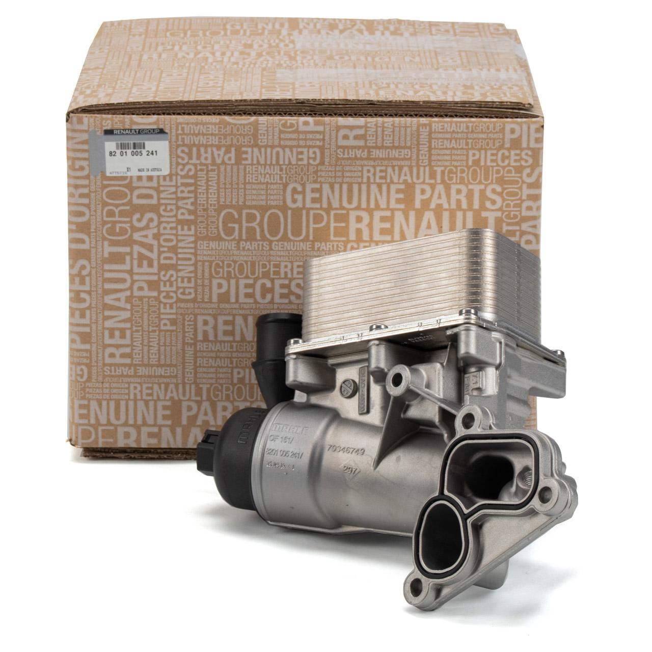 ORIGINAL Renault Ölkühler MASTER 3 TRAFIC 2 KOLEOS 2 2.0 / 2.3 dCi 8201005241