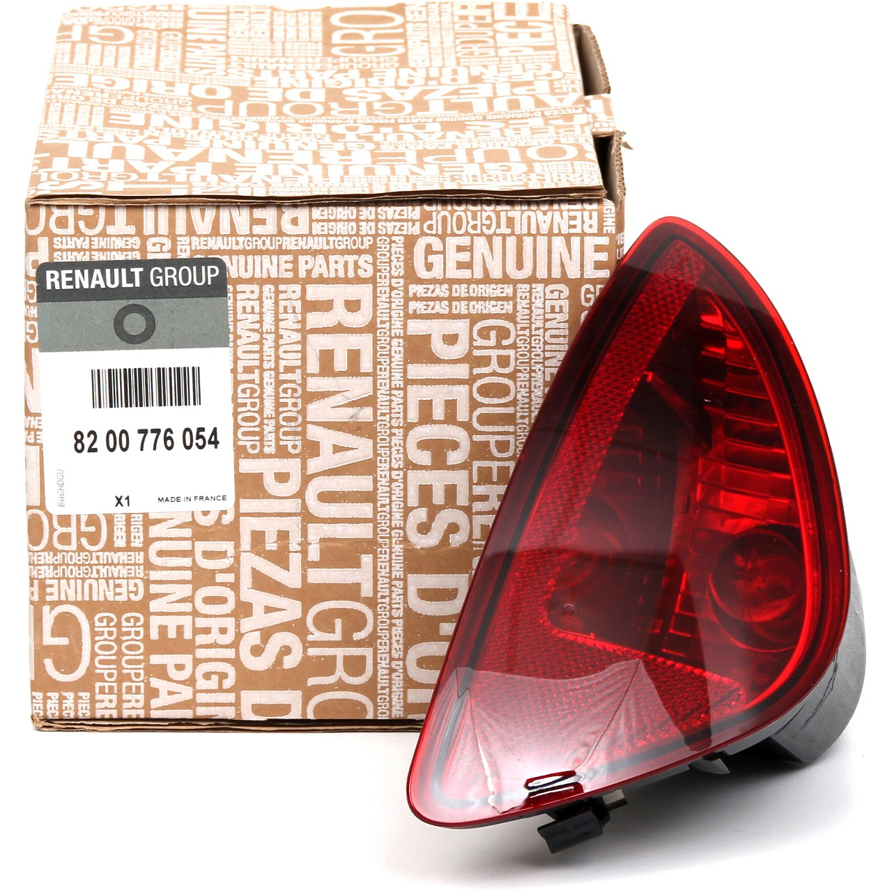 ORIGINAL Renault Reflektor Rückstrahler Stoßstange Clio III rechts 8200776054