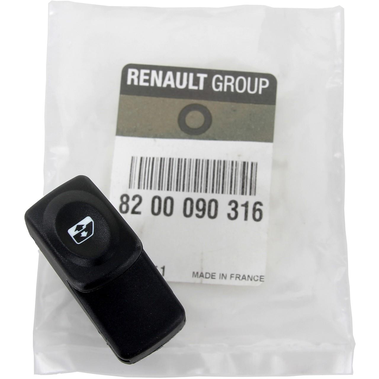 ORIGINAL Renault Schalter Fensterheber 5-polig Kangoo vorne 8200090316