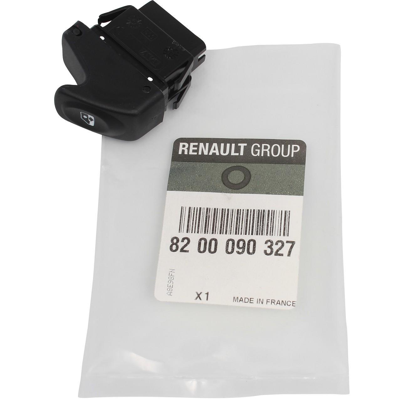 ORIGINAL Renault Schalter Fensterheber 6-polig Kangoo 8200090327