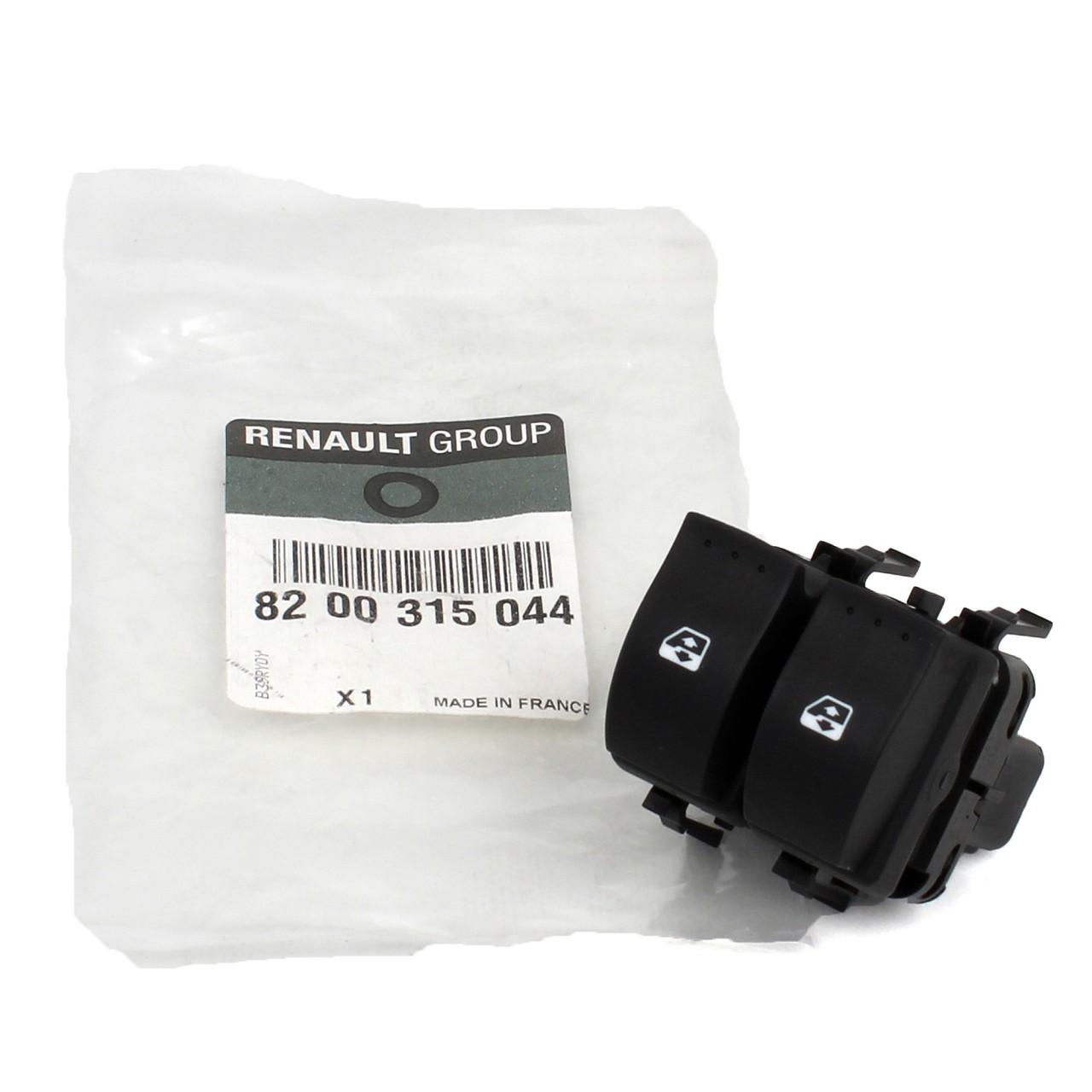 ORIGINAL Renault Schalter Fensterheber Fensterheberschalter 8200315044
