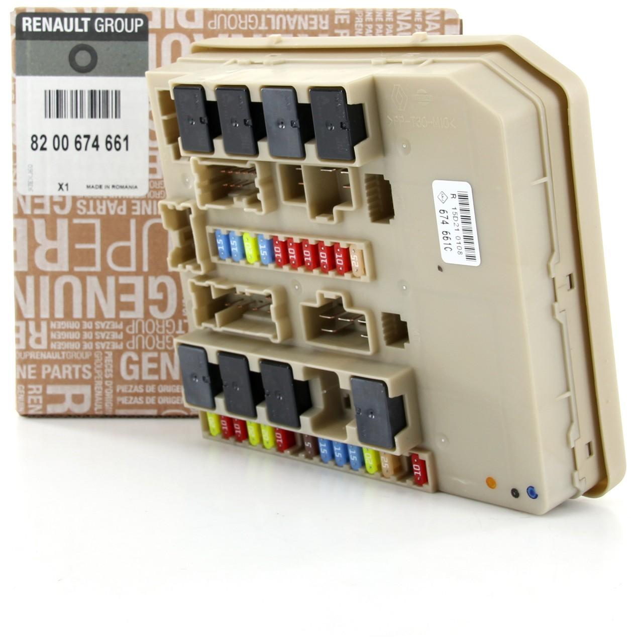ORIGINAL Renault Sicherungskasten Zentralelektronik UPC Steuergerät 8200674661