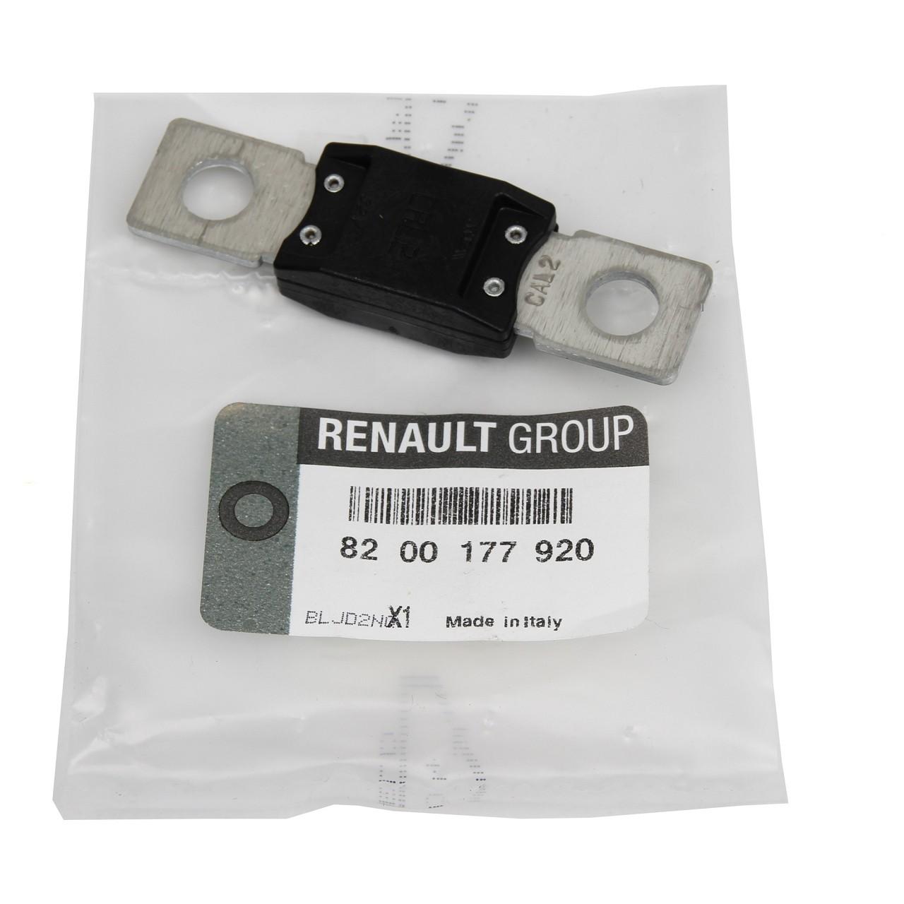 ORIGINAL Renault Stecksicherung Sicherung MASTER III MEGANE II 8200177920