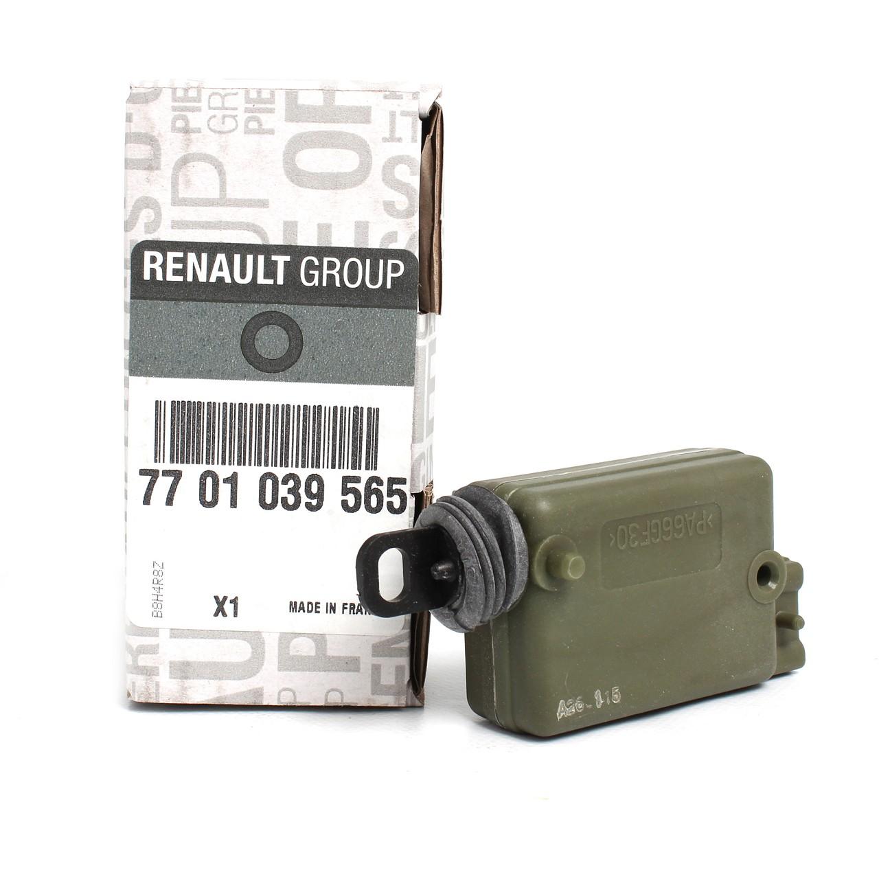 ORIGINAL Renault Stellmotor Türschloss CLIO ESPACE MEGANE SCENIC 7701039565