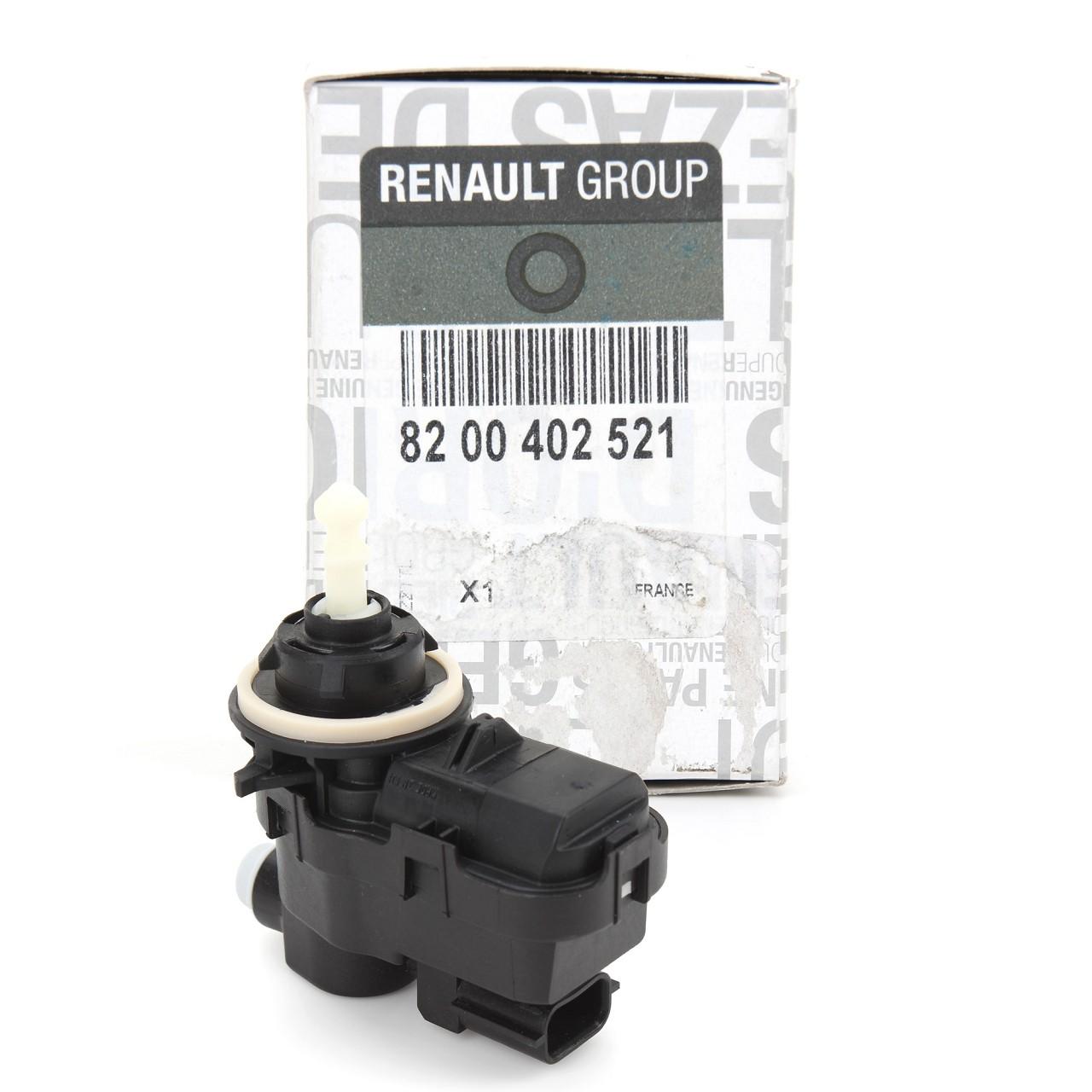 ORIGINAL Renault Stellmotor Scheinwerfer Leuchtweitenregulierung 8200402521