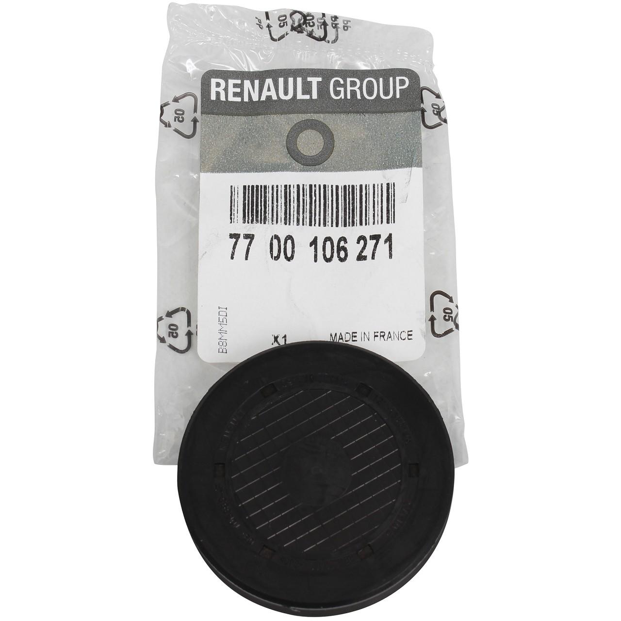 ORIGINAL Renault Stopfen Kipphebelwellen-Montagebohrung 7700106271